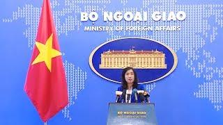 Họp báo thường kỳ Bộ Ngoại giao (25-10-2018)