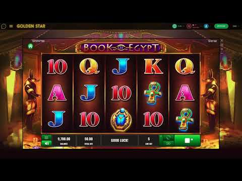 Book of Egypt slot game