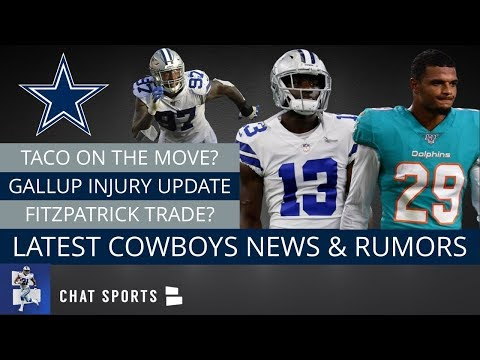 Minkah Fitzpatrick Cowboys Trade Rumors? Michael Gallup Injury News & Taco Charlton Done In Dallas?