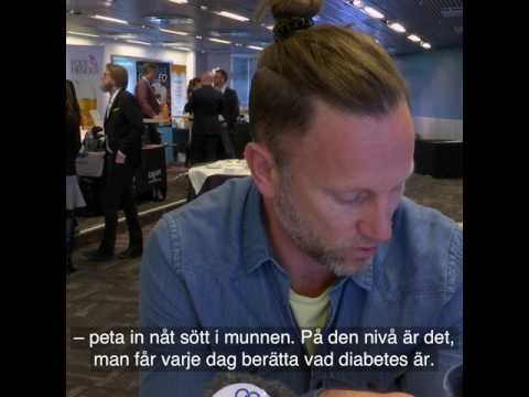 Peter Jihde avslutar Diabetesforum