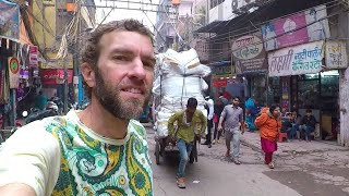 INDIA IS MIND-BLOWING! Getting Lost in Old Delhi