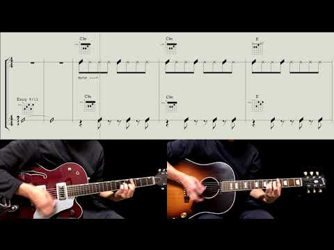 Guitar Score : All I've Got To Do - The Beatles
