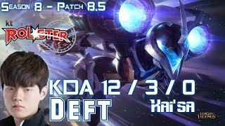 KT Deft KAI'SA vs BRAND Mid - Patch 8.5 KR