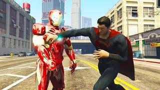 GTA 5 MODS # 1 | SUPERMAN VÀ NGƯỜI SẮT