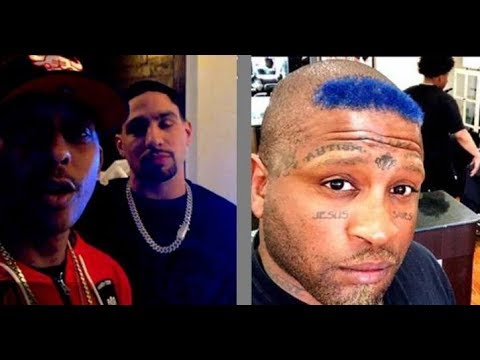 Gillie Da Kid Confront Texas Crip  Who Tried To Defend Kodak Black..DA PRODUCT DVD