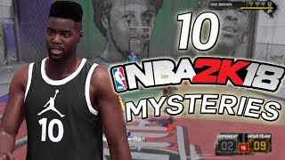 10 NBA 2K Mysteries That Need To Be Solved!
