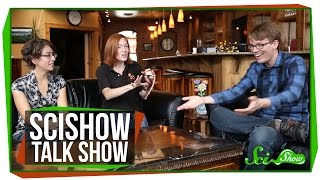 SciShow Talk Show: Ellen Whittle on Bats, and Carlos the Sinaloan Milk Snake