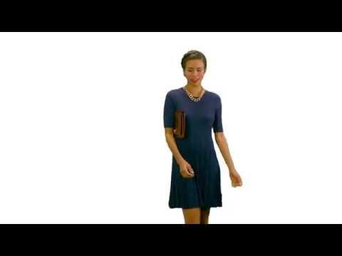 Brahmin Lily Clutch Video