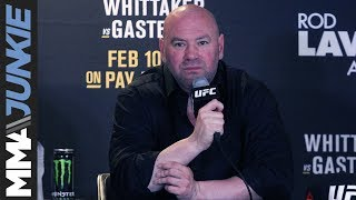 UFC 234: Dana White full post-fight interview