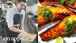 Chris Makes Kombu Cured Salmon | From the Test Kitchen | Bon Appétit
