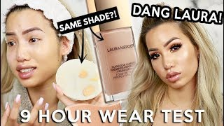 NEW | LAURA MERCIER FLAWLESS LUMIERE RADIANCE PERFECTING FOUNDATION | WEAR TEST REVIEW