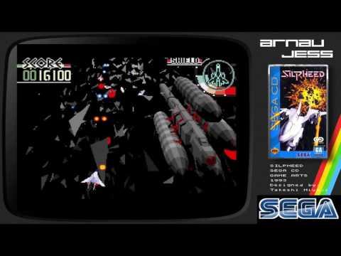 SILPHEED Mega Cd/SEGA CD by Takeshi Miyaji