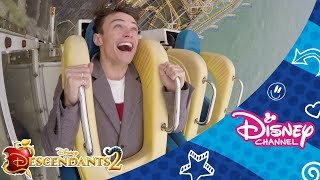 Disney Channel Dares | Thomas and Booboo | Scary Ride Challenge 🎢 | Official Disney Channel Africa