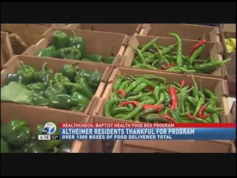 Baptist Health Delivers Food Boxes to Altheimer