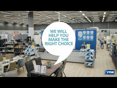 Our staff will advise you | JYSK