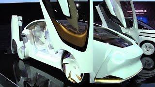 تعرف على سيارة Toyota Concept i بالتكنولجيا المستقبلية اليابانية ...