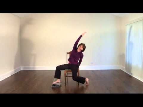 chair yoga sequence  youtube