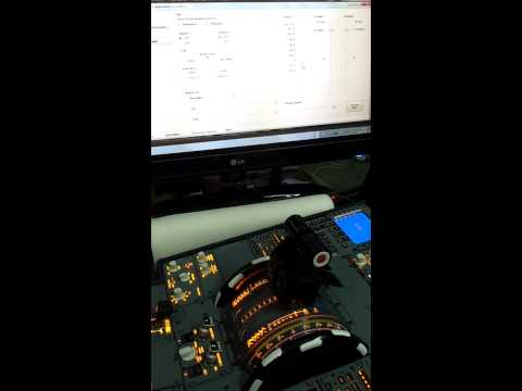 video Throttle & Engine start panel