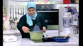 دجاجة بالمرتة - جلاش بالكبد والقوانص - فول مدمس - نجلاء الشرشابي - اكلات رمضانية مصرية