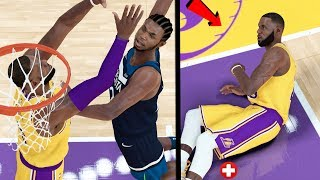 LEBRON JAMES CAREER ENDING POSTERIZER DUNK IN THE PLAYOFFS! NBA 2k19 MyCAREER Ep. 52