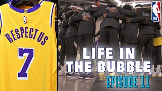 Life in the Bubble - Ep. 11: A Dub in the Bub & BTS of Lakers v. Clippers Game | JaVale McGee Vlogs