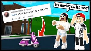THERE WAS A GHOST IN MY GAME!!!! (VIDEO PROOF) - Roblox