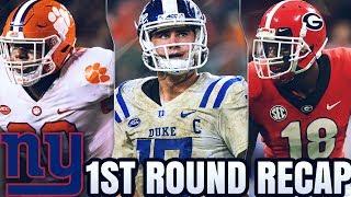 New York Giants 2019 NFL Draft 1st Round Analysis