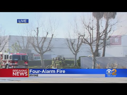 Over 100 Firefighters Knock Down Large Structure Fire In Irvine