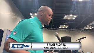 Dolphins' Brian Flores On Bill Belichick's Influence