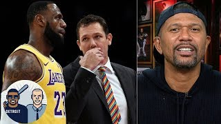 Luke Walton will only coach LeBron James for one season on the Lakers- Jalen Rose | Jalen & Jacoby