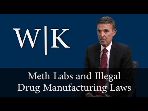 Meth Labs and Illegal Drug Manufacturing (HS 11379.6 and HS 11366.5)
