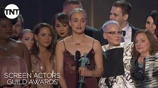Orange is the New Black: Acceptance Speech | 23rd Annual SAG Awards | TNT