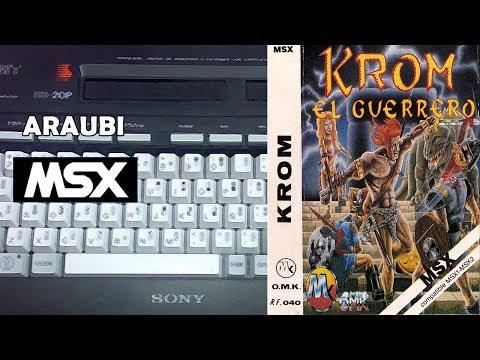 Krom (OMK, 1989) MSX [325] Walkthrough Comentado