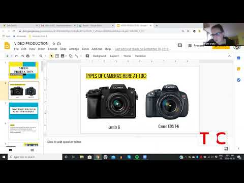 , TDC – Digital Ventures Discusses Types of Cameras, Wheelchair Accessible Homes