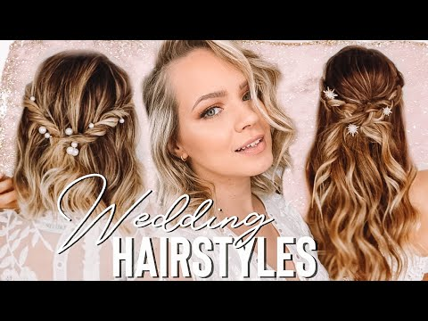 Wedding Hairstyles you can do BY YOURSELF!! – Kayley Melissa