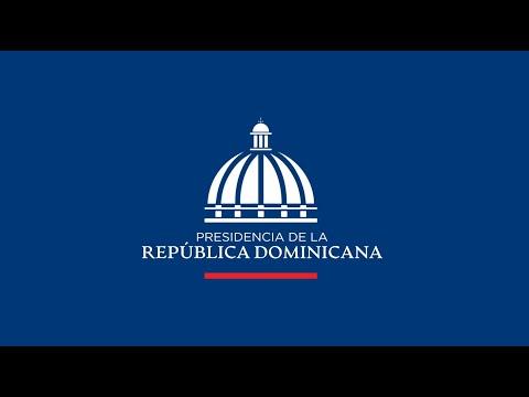 Rueda de Prensa Virtual del Presidente Luis Abinader en conjunto con Autoridad Portuaria Dominicana.