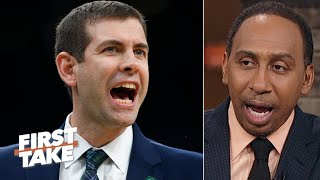 Stephen A. has so many questions about Brad Stevens' coaching   First Take