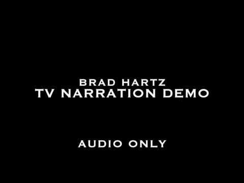 Brad Hartz TV In Show Narration Demo