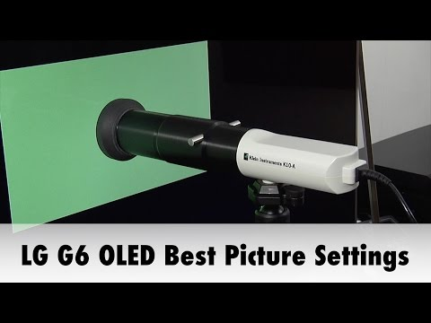 LG G6 OLED TV Best Picture Settings