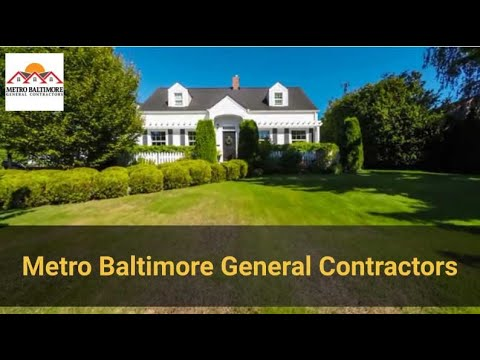 General Contractors Baltimore MD (410) 469-8671 for Home Remodeling Companies near me
