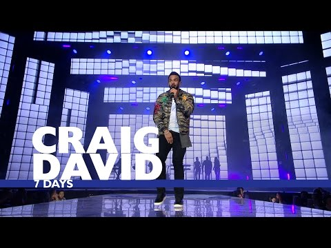 Craig David - '7 Days' (Live At Capital's Jingle Bell Ball 2016)
