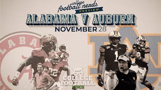 Alabama vs Auburn - Iron Bowl Preview & Prediction - College Football