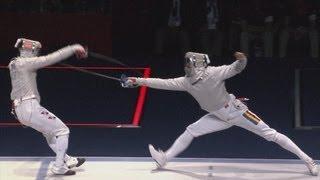 Korea Win Fencing Men's Sabre Team Gold - London 2012 Olympics