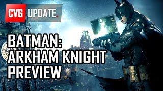 Batman Arkham Knight on PS4 - Preview