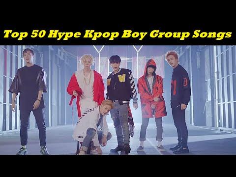 Top 50 HYPE Kpop Boy Group Songs