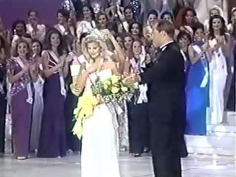 Miss Texas Usa 1996 Crowning Moment Youtube