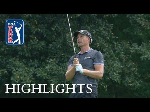 Henrik Stenson?s highlights | Round 2 | Wyndham 2018