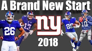 "2018 NY Giants || ""A Brand New Start"" 