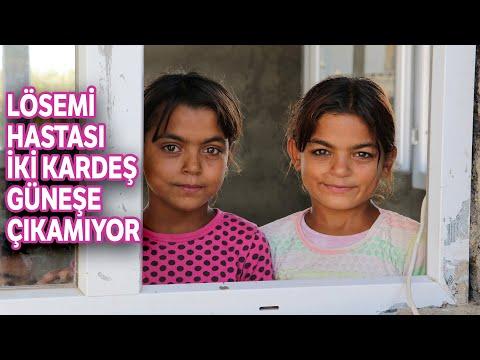 Suriyeli Darin ve Rahaf Hastalıkları Yüzünden Güneşe Çıkamıyor