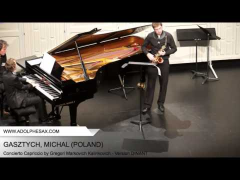 Dinant 2014 - Gastzych, Michal - Concerto Capriccio by Gregori Markovich Kalinkovich